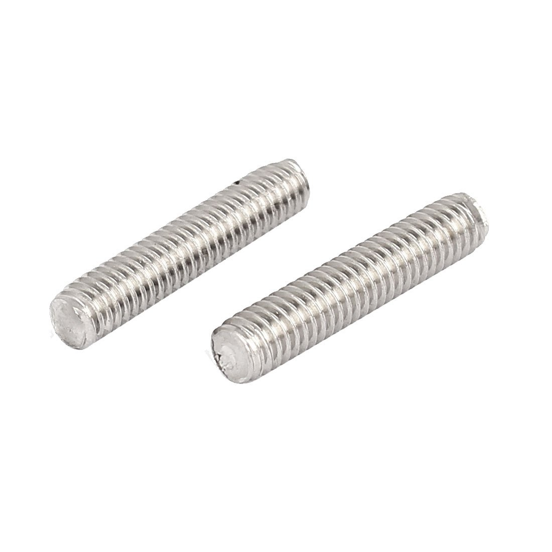 uxcell M4 x 20mm 304 Stainless Steel Fully Threaded Rod Bar Studs Silver Tone 50 Pcs a16071500ux0048