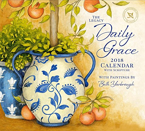 Legacy Publishing Group 2018 12-Month Wall Calendar with Scripture, Daily Grace