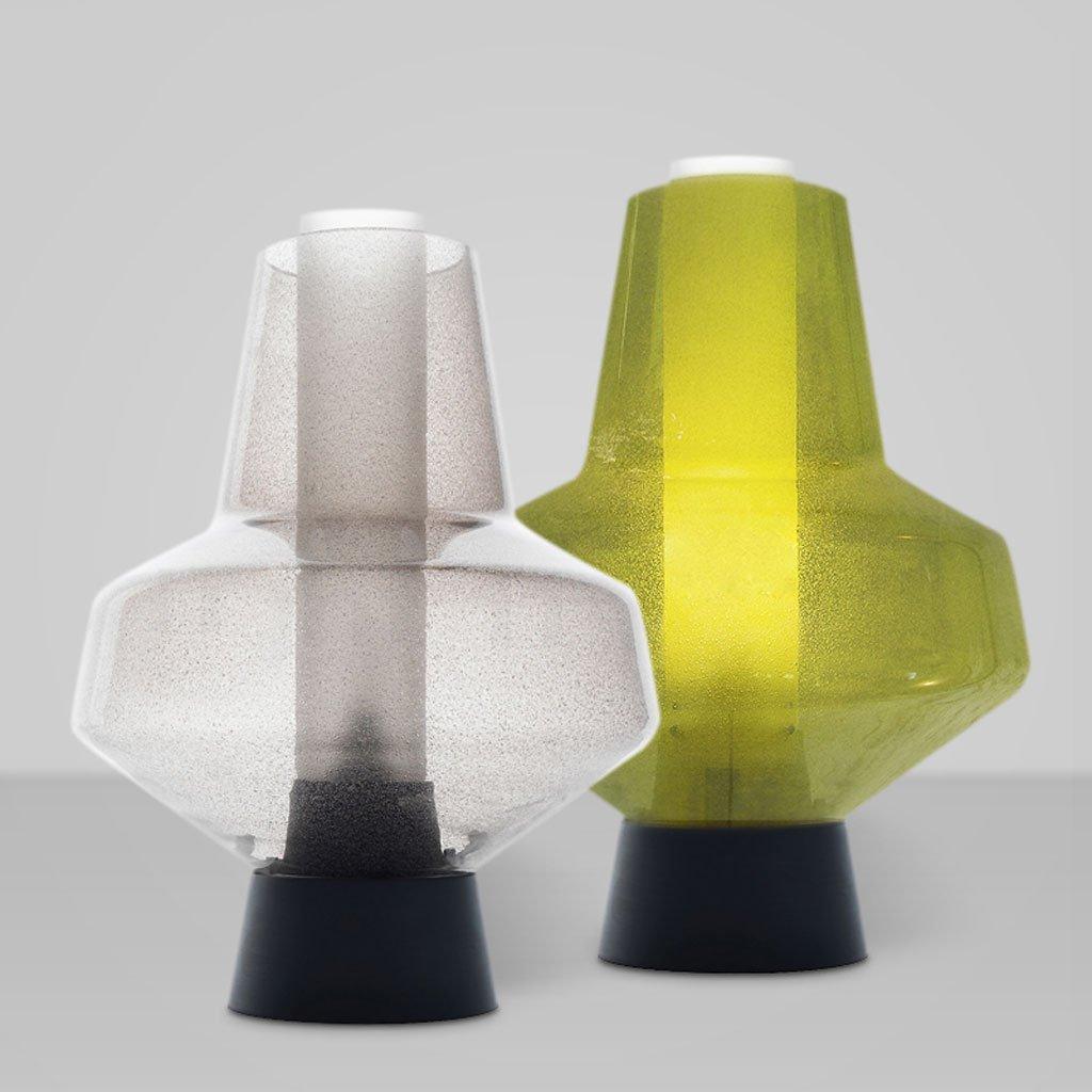 Nordic Retro Glas Tischlampe Kreative Persönlichkeit Einfache Einfache Einfache Wohnzimmer Kinder Schlafzimmer Nachttischlampe E14  1 (Farbe   Weiß-B 28  45CM) B07CHCXG51 | Flagship-Store  b974e5