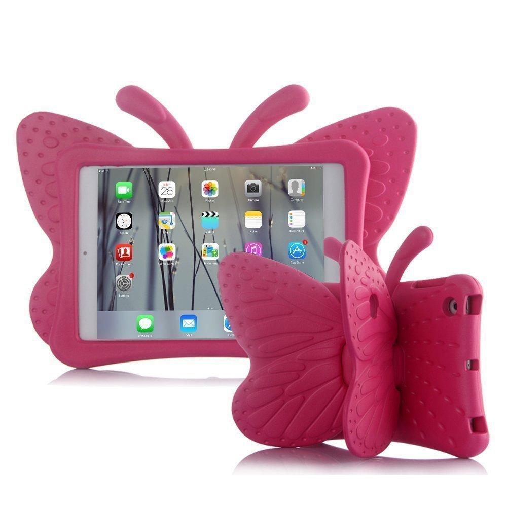 Mini 1 Pink Mini 2 Mini 3 Mini 4 Shockproof Butterfly Stand Soft EVA Kids Case Cover for Apple iPad Mini 5 AILRINNI Case for iPad Mini 5