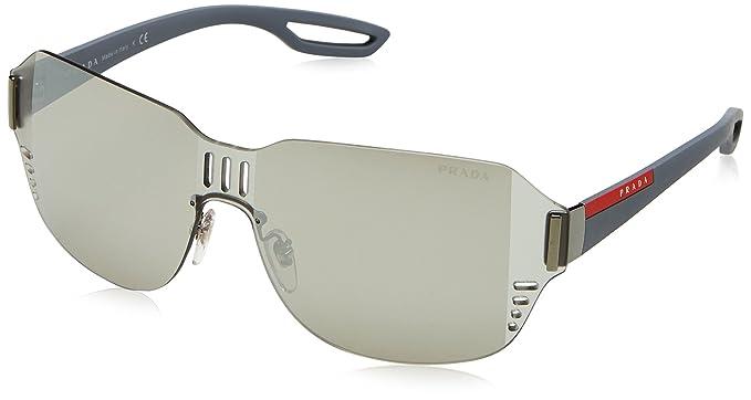 ba786f48d8d Image Unavailable. Image not available for. Color  Prada Linea Rossa Men s  PS 05SS Sunglasses 44mm