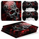CSBC Skins Sony PS4 Pro Design Foils Faceplate Set - Vampire Skull Design