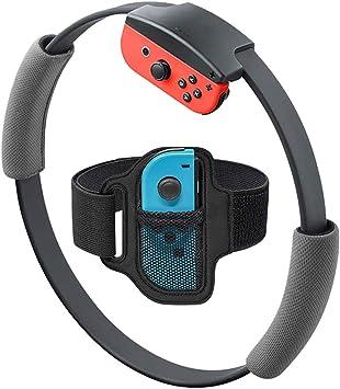 Horen Anillo de Fitness de Juego para Nintendo Switch NS Joycon Ring Fit Adventure Agarraderas de