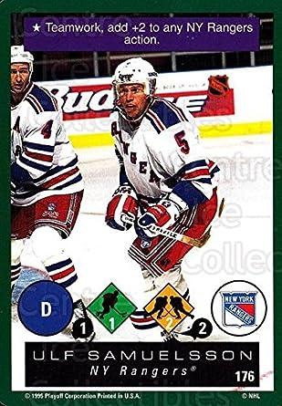 Amazon.com  (CI) Ulf Samuelsson Hockey Card 1995-96 Playoff One on ... 43f76c42a