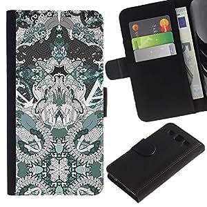 APlus Cases // Samsung Galaxy S3 III I9300 // Mágico espiritual Diseño Dibujo Arte // Cuero PU Delgado caso Billetera cubierta Shell Armor Funda Case Cover Wallet Credit Card