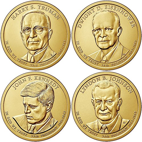 2015 P, D Presidential Dollar 8-Coin Set Uncirculated