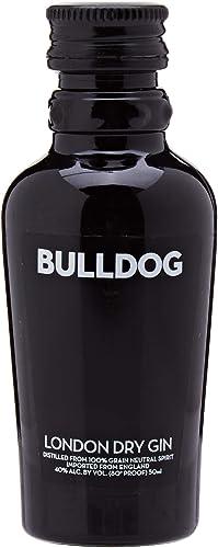 Botellita miniatura ginebra Bulldog 5cl: Amazon.es ...