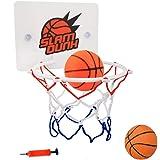 ZERONOWA バスケットゴール ミニバスケットボード 壁取り付け 家庭用 室内 屋外 (A)