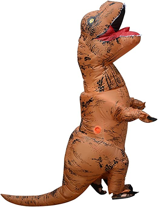WWSUNNY Halloween Adult T-Rex Mascota de Dinosaurio Inflable ...