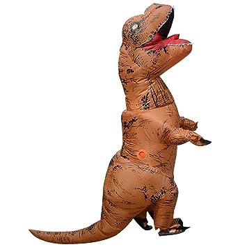 Halloween Erwachsene T-Rex Aufblasbare dinosaurier maskottchen ...