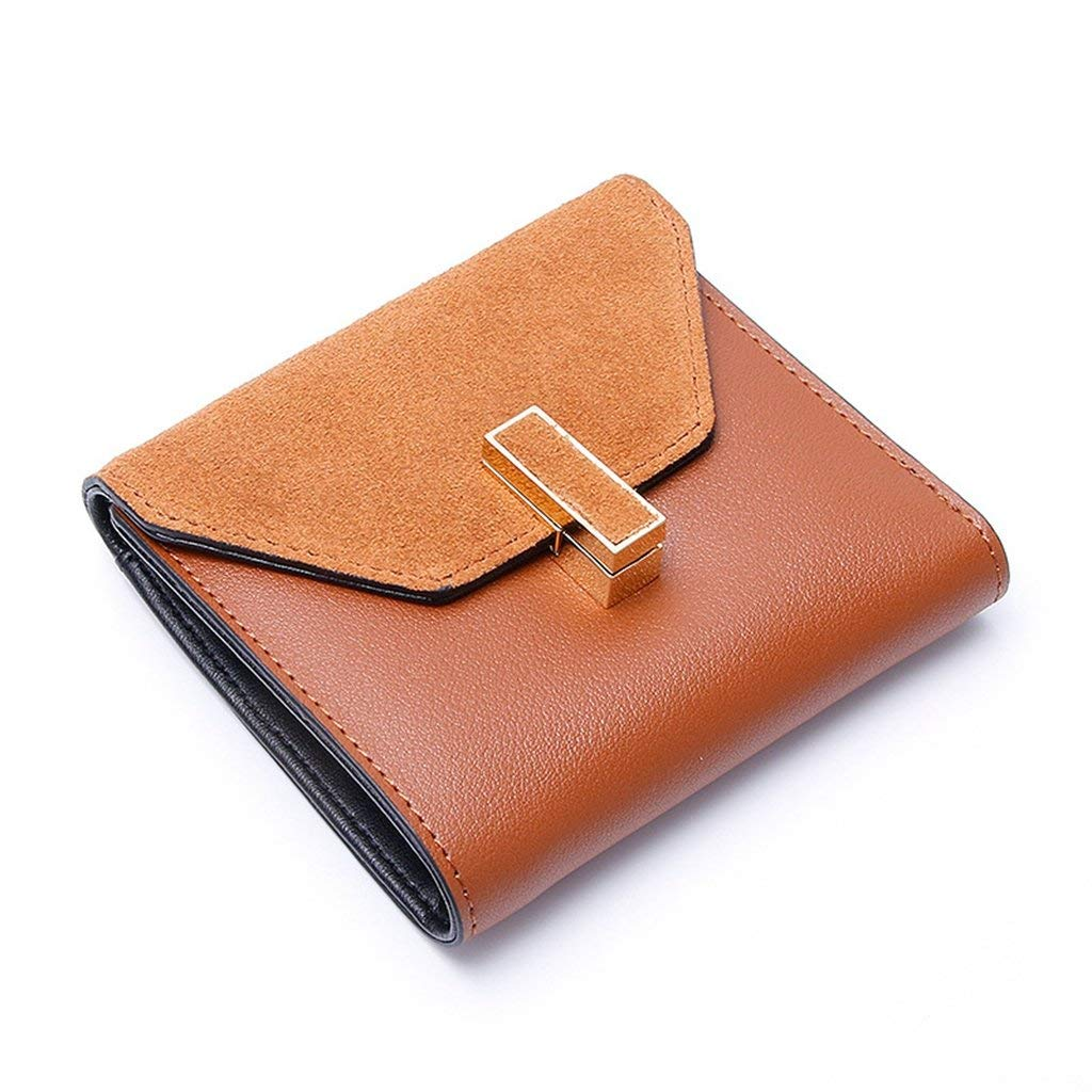 4 Cross Women's Leather Wallets RFID Blocking Vintage Design Large Capacity for Work (color    1)