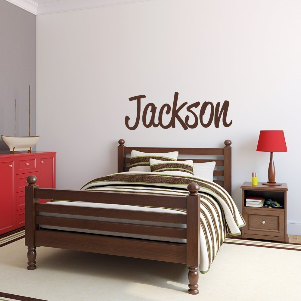 Custom Name Vinyl Wall Decal Sticker Art for Boys