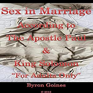 Sex in Marriage Audiobook
