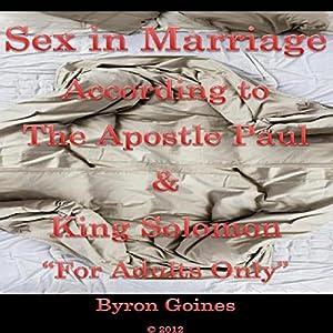 Sex in Marriage Audiobook