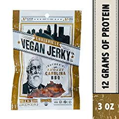 Louisville Vegan Jerky Company was started in my home kitchen back in 2012. Having spent some time in Oahu as a child, I was craving manapua. Using my mom's old recipe, I substituted baked soy for the pork and popped my seasoned protein in th...