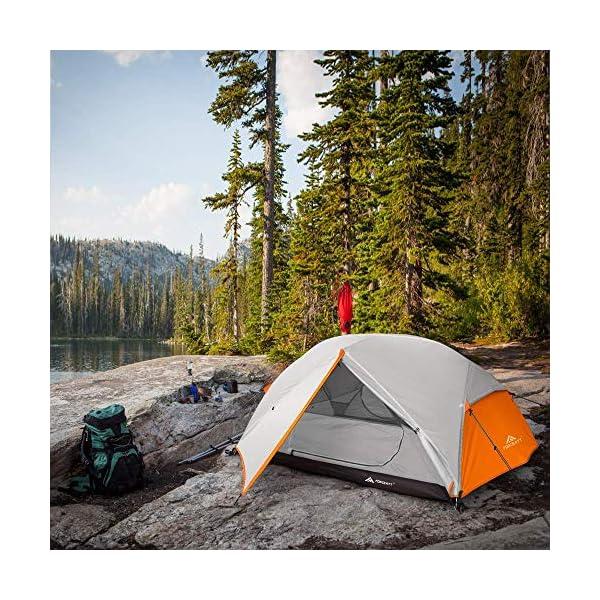61Yfm 1YdgL Forceatt Zelt 2-3 Personen Camping Zelt, 2 Doors Wasserdicht & Winddicht 3-4 Saison Ultraleichte Rucksack Zelt für…