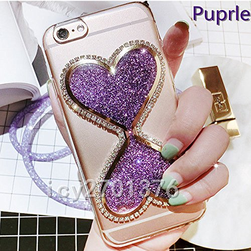 brand new f5a68 ffc70 ZTE Blade Spark Z971 Z956 bling Case, ZTE Grand X4 bling Case,icy2701376  Bling Glitter Quicksand Hourglass Soft Back Phone Dynamic Covers skin Case  & ...