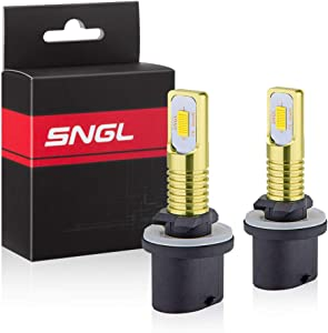 SNGL 880 LED Fog Light Bulb yellow 3000k Extremely Bright High Power 880 899 893 890 892 LED Bulbs for DRL or Fog Light Lamp Replacement