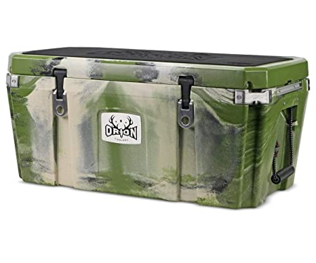 Orion Heavy Duty Premium Cooler 85 Quart, Forest , Durable Insulated Outdoor Ice Chest for Maximum Cold Retention – Portable, Bear Resistant, and Long Lasting, Great for Hunting, Fishing, Camping