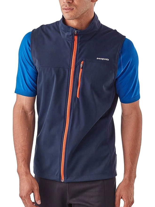 812c2e36fa88 Amazon   patagonia(パタゴニア) M's Wind Shield Vest US-XS NVYB   Amazon Fashion  通販