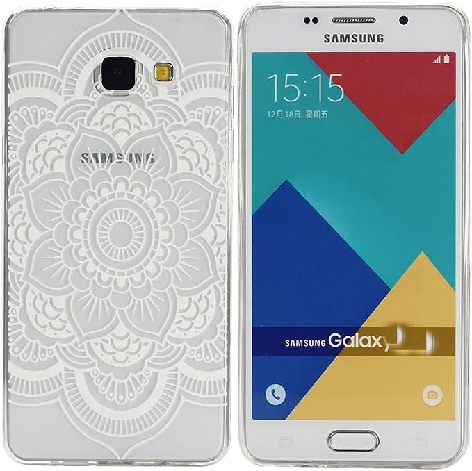 M-1 Galaxy A3 2016 Coque Supporter Flip PU Cuir Portefeuille Couverture Housse Coque Etui pour Samsung Galaxy A3 2016 avec Cr/édit Carte Tenant Fente Dooki