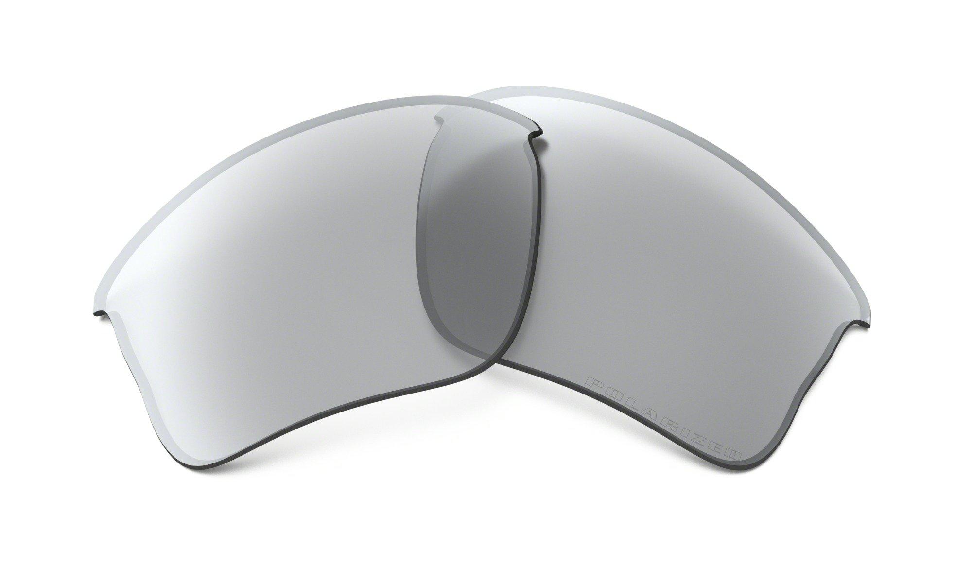 Oakley Flak XLJ Jacker Repl Polarized Lens,Multi Frame/Light Grey Lens,One Size by Oakley