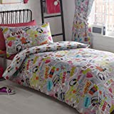 Homespace Direct Kids Club Dance Crew Single Duvet Cover Set