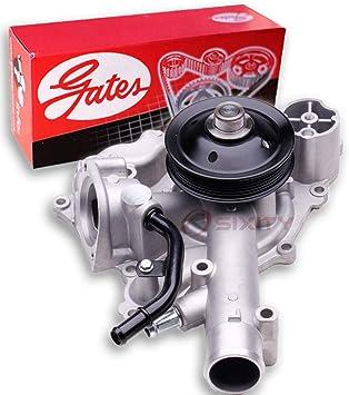 Amazon Com Gates Engine Water Pump For 2011 2017 Ram 1500 5 7l V8 Coolant Antifreeze Radiator Seal Bearing Automotive