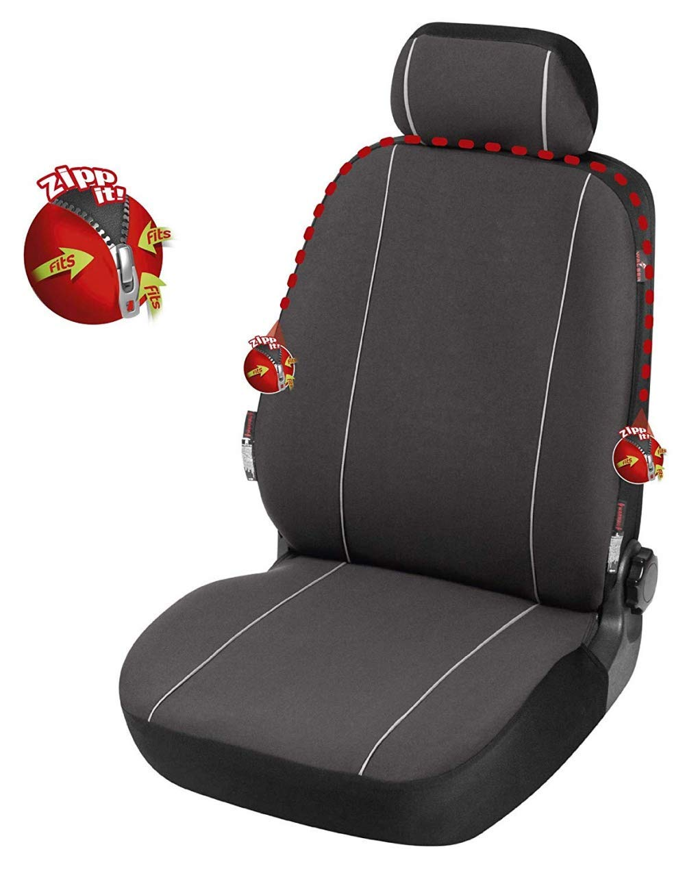 compatibili con sedili con airbag bracciolo Laterale H 2004-2010 rmg-distribuzione Coprisedili SPECIFICI per Astra Versione sedili Posteriori sdoppiabili R60S0615