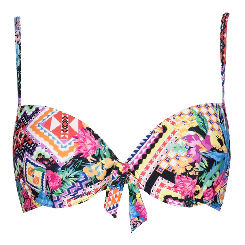 LingaDore Bikini Oberteil, bunt gemustert