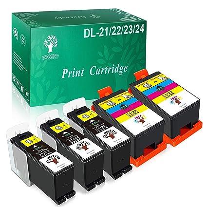 greensky High Yield Cartucho de tinta compatible para Dell ...