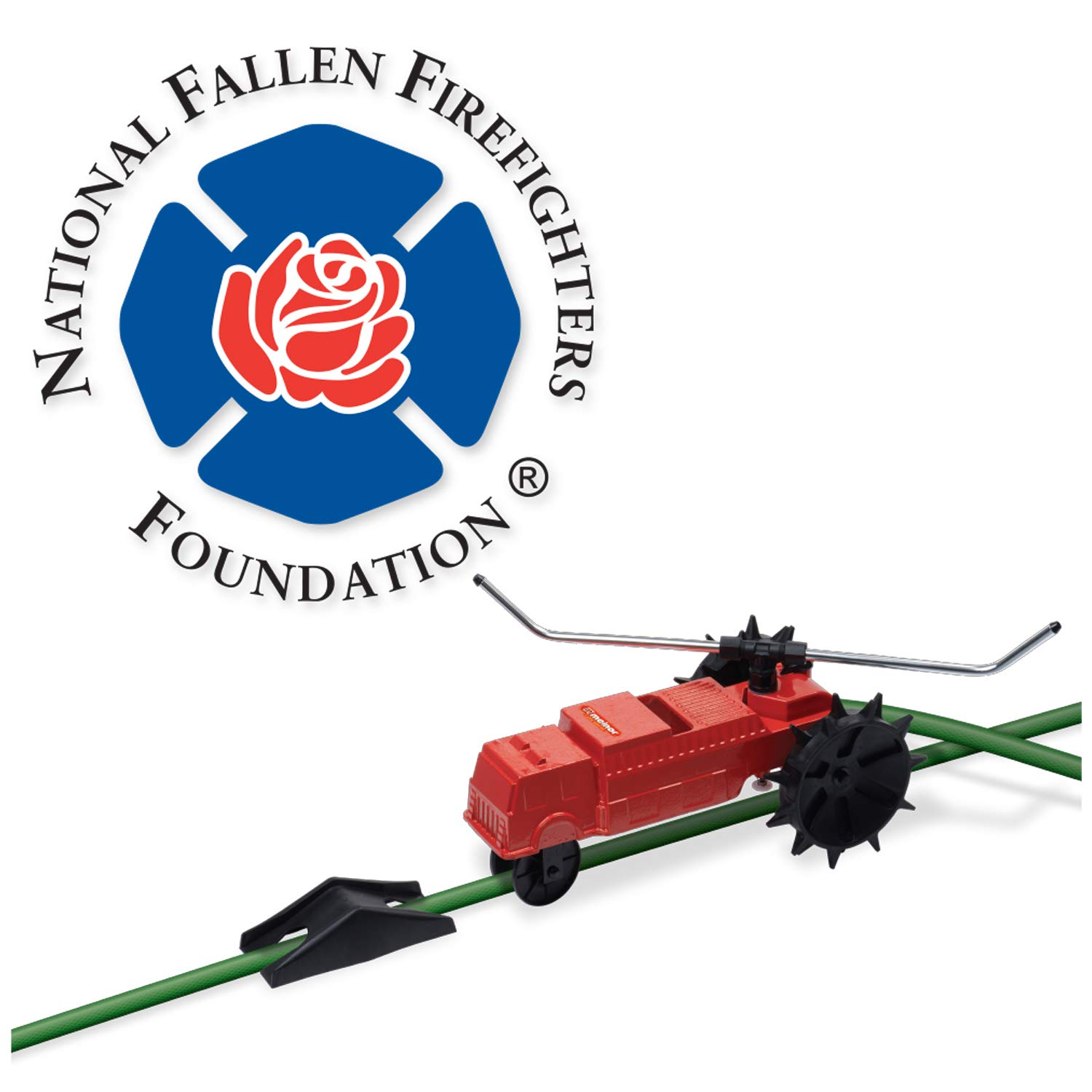 Melnor 4501 Traveling Sprinkler Lawn Rescue-13,500 sq. ft. Coverage Variable Speed Control with Adjustable Spray Arms by Melnor
