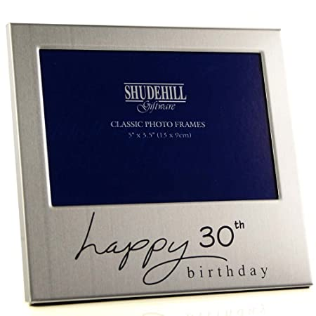 5 X 3 Happy 30th Birthday Photo Frame Occasion Gift Present 72230