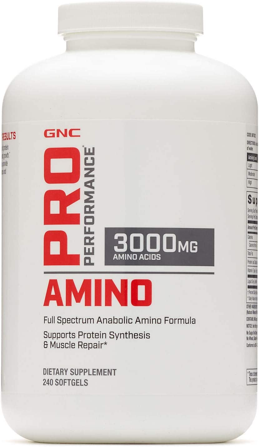 GNC Pro Performance Amino 240 softgels