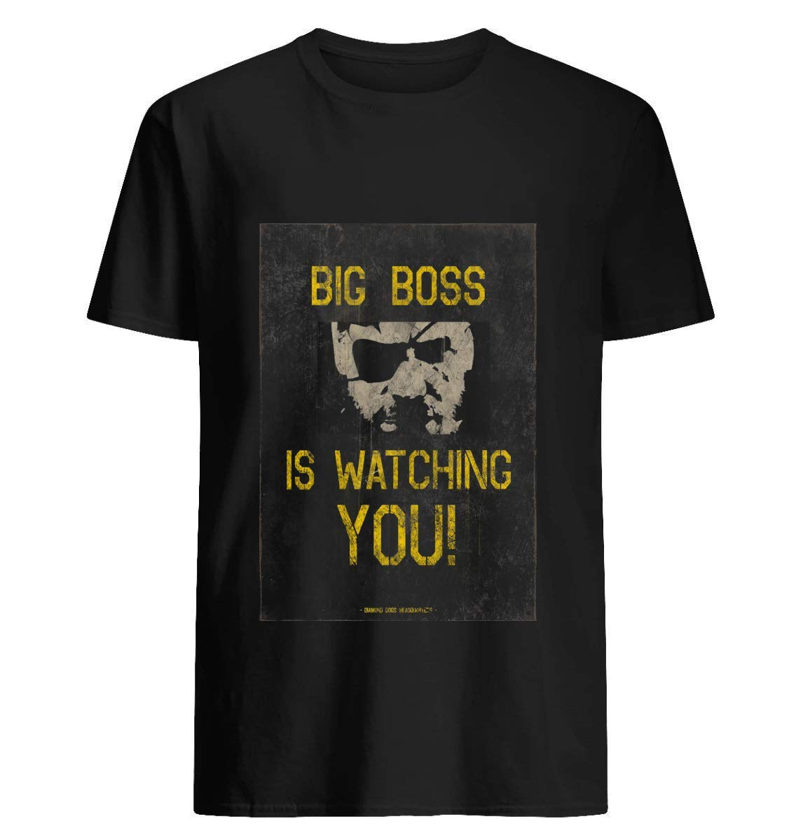 Big Boss Is Watching You 43 T Shirt For Unisex
