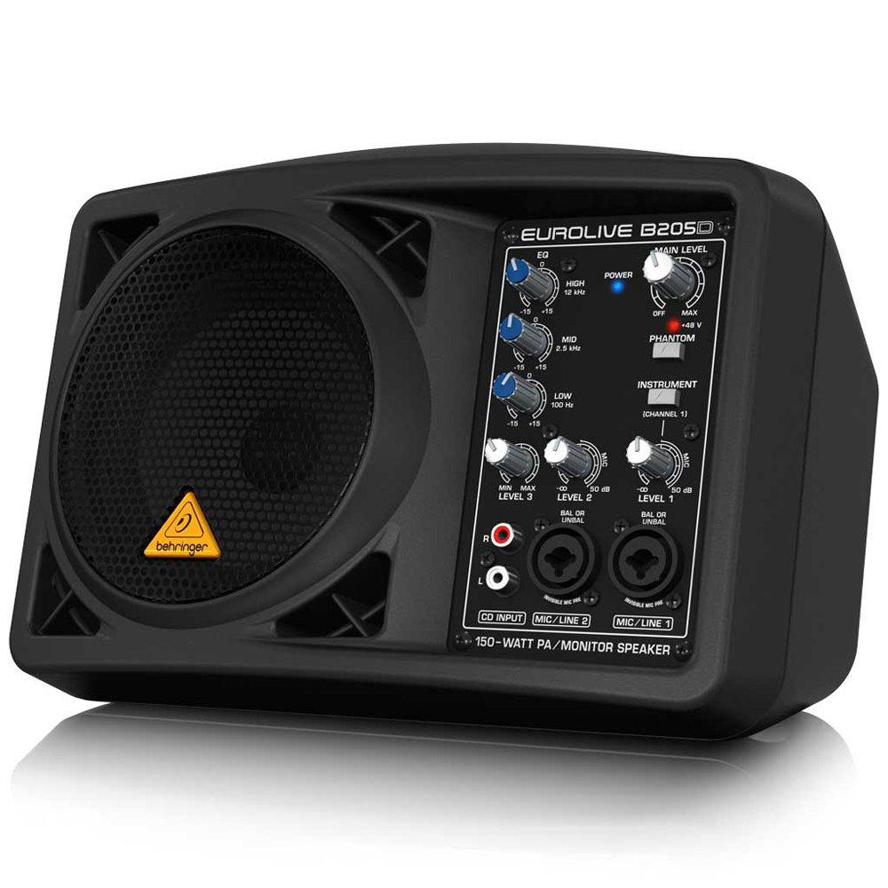 Behringer Eurolive B205D Ultra-Compact 150-Watt PA/Monitor Speaker System by Behringer (Image #8)