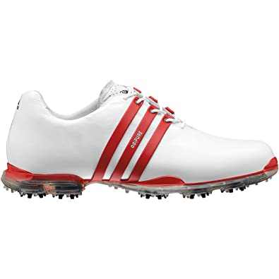 adidas adipure golf shoes red