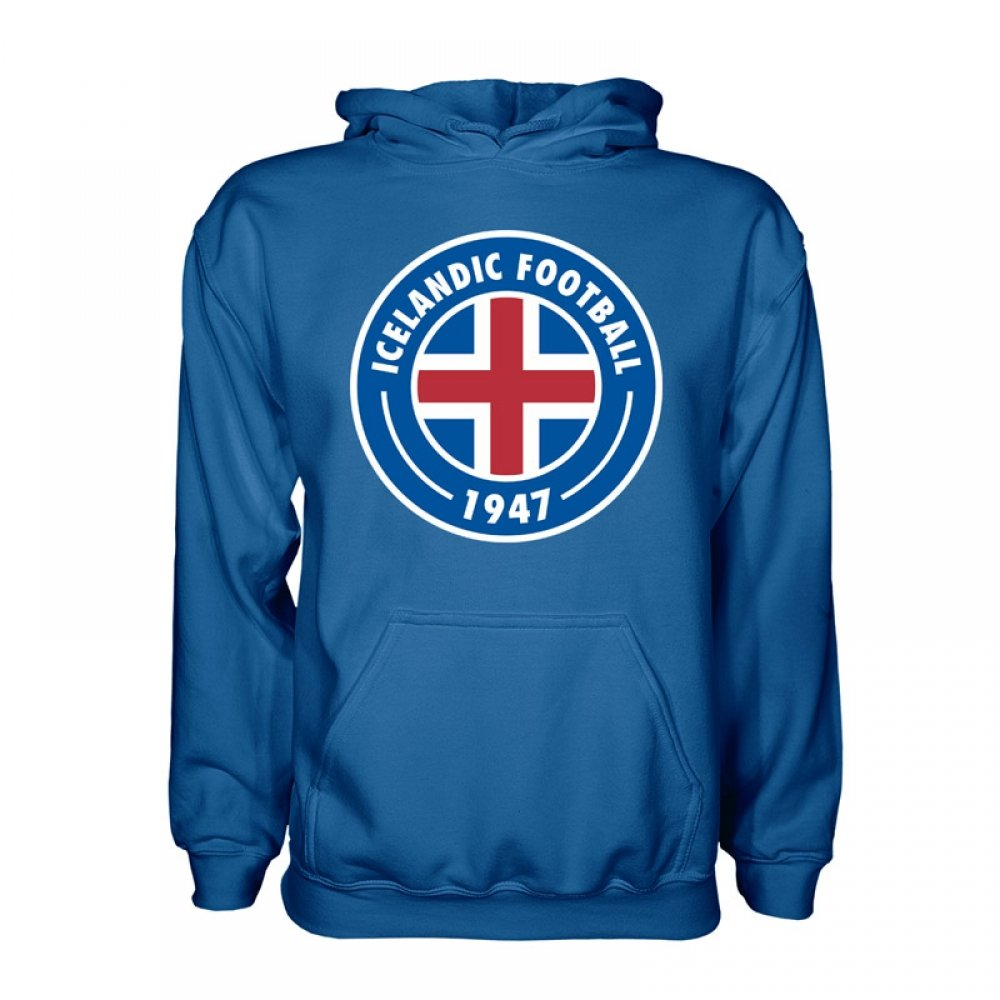 Iceland Core Hoody (Blue) B077PJYRW1 Medium (38-40