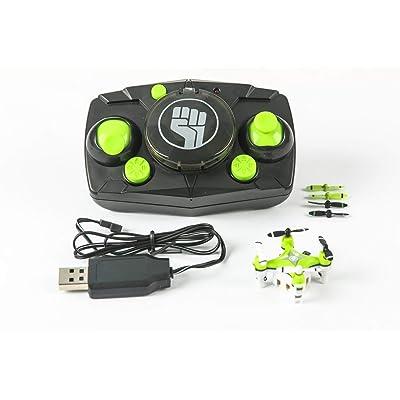 Rage RC Pico X Ultra Micro Quad Rtf RC Multirotor, Green: Toys & Games