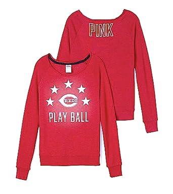 6426d2b3007b1 Victoria's Secret PINK Cincinnati Reds Vintage Crew Sweatshirt Small ...