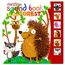 Children's Marzipan Hardback Sound Book In The Forest