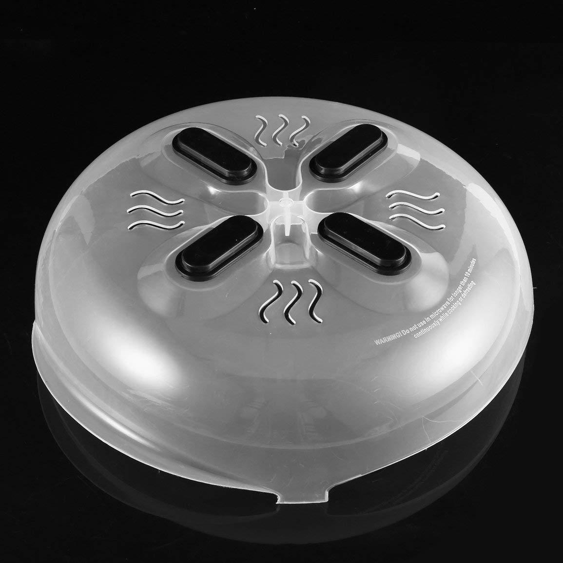 Im/án pr/áctico para microondas Hover antivapor con tapa para humo resistente al calor