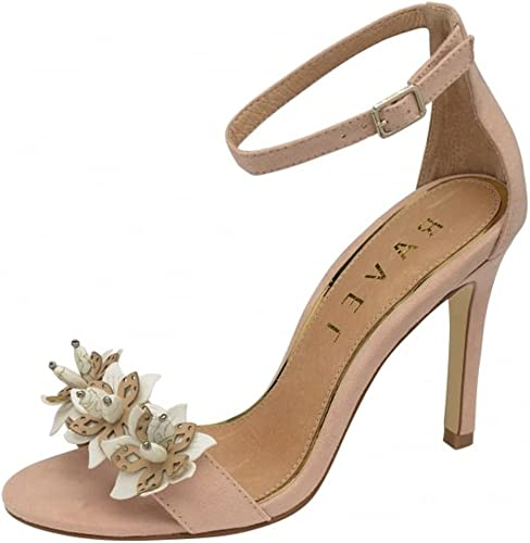 Ladies Ravel Conway Nude beige Stiletto Wedding Evening sandals Party Shoes