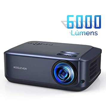Proyector Cine en Casa, 1080P LCD Video Proyector Full HD con 6000 ...