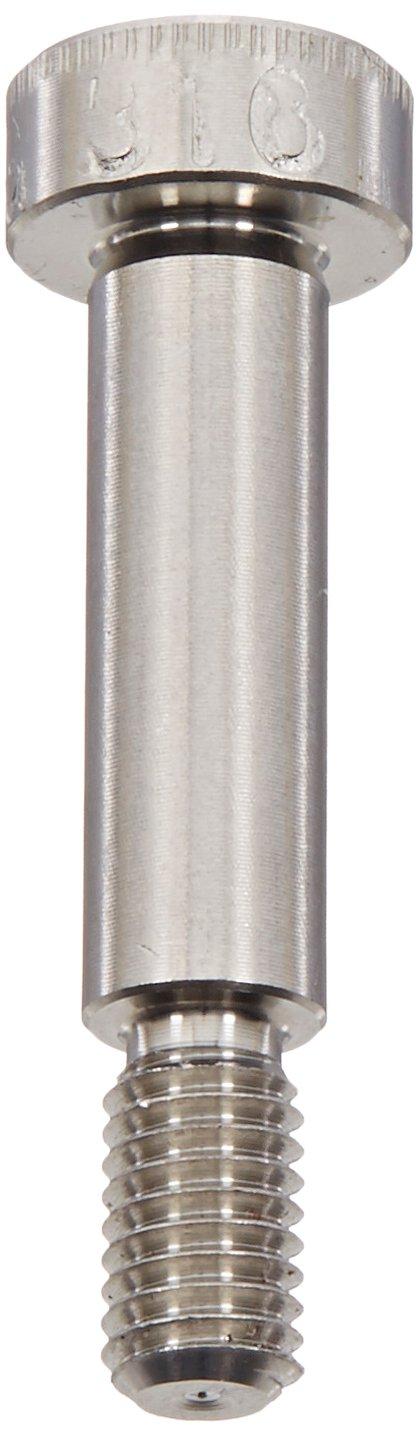 9.5 mm Thread Length Plain Finish 316 Stainless Steel Shoulder Screw Hex Socket Drive M5-0.8 Threads 6 mm Shoulder Diameter Standard Tolerance Made in US, Socket Head Cap Pack of 1 20 mm Shoulder Length