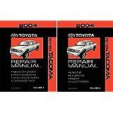 bishko automotive literature 2004 toyota tacoma shop service repair manual  book engine drivetrain oem