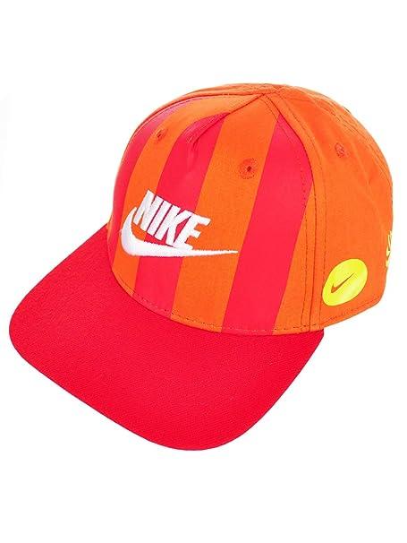 14db58c3c Amazon.com: Nike Baby Boys' Snapback Cap (One Size) - max orange, 12 ...