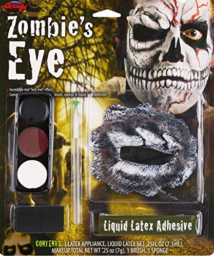 Calavera Costume Makeup (Skull Zombie Makeup Kit Costume Makeup)