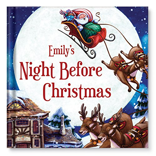 My Night Before Christmas Personalized Book: I See Me!