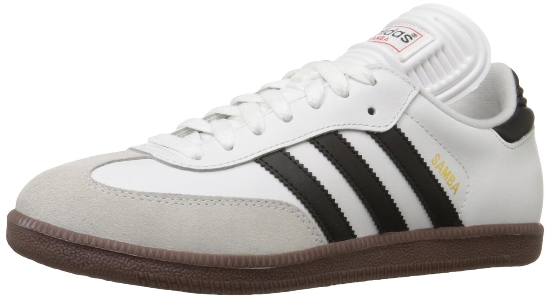 adidas Performance Men's Samba Classic Indoor Soccer Shoe B000CEOXU2 13 M US|White/Black/White